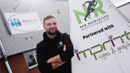 Nathan Gostling, owner of NR Health and Fitness Club, is planning to turn the Norwich Street store i