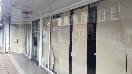 The former Chattels store in Dereham could be turned into a new gym. Photo: Jessica Frank-Keyes