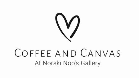 Coffee and Canvas will officially open at Norski Noo's Gallery on June 17. Picture: Supplied by Andy