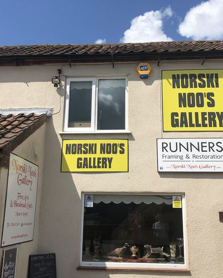 Coffee and Canvas will officially open at Norski Noo's Gallery on June 17. Picture: Daniel Bennett