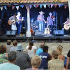 Part of the action at a previous Southburgh Festival, which has been renamed the Norfolk World Music