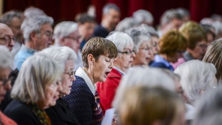 Fakenham Choral Society will perform Handels anthems and John Rutters arrangements at their Summer S