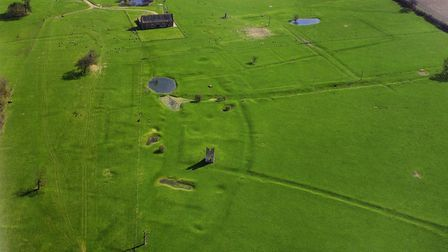 A viewof teh lost village of Godwick from above. picture: ARCHANT LIBRARY