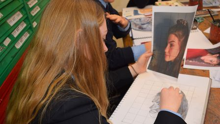 Dereham Neatherd High School has been awarded a gold Artsmark award by the Arts Council. Picture: Ne