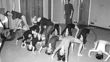 Yoga for Fakenham youngsters Photo: 6th nov 1982 Archant Library