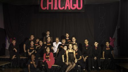 The drama Chicago at Dereham Neatherd High School. Picture: Malcolm Dent.