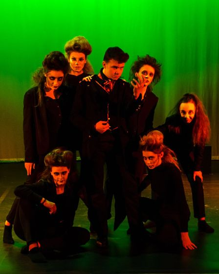 The drama Jeckyll and Hyde at Dereham Neatherd High School. Picture: Jon London Photography