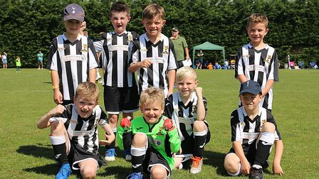 Over 750 children took part in a youth football tournament hosted by Dereham Town Youth Football Clu