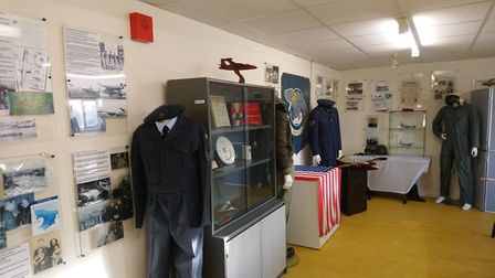 The displays at RAF Sculthorpe Heritage Centre PICTURE: Ian Brown