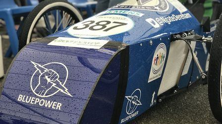 Budding young engineers in Norfolk put their homemade kit cars to the test in an inaugural racing ev