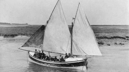 Ist Baltic with sail is one of the photos on show at the Wells lifeboat 150th anniversary. Pictures: