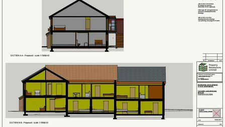SeEd Living are hoping to build nine zero carbon affordable flats on a vacant plot of land in Dereha