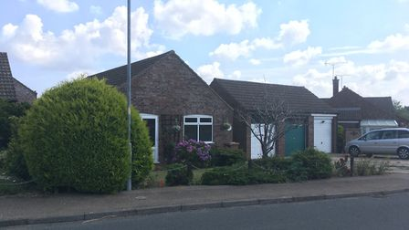 The occupant at the bungalow on Gwyn Crescent in Fakenham escaped from the fire unharmed. Picture: A