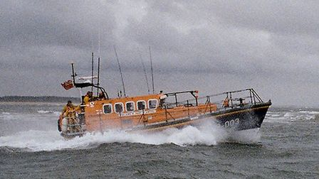 RNLI Wells Lifeboat Station's all-weather lifeboat has been sent to save a catamaran in the North Se