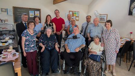The Dereham and District Access Group has been forced to close. This picture shows the group celebra