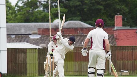 Brilliant batting from Lloyd Marshall helped Fakenham to a good win against Diss Picture: MIKE WYATT