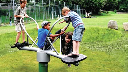 Dereham Town Council are installing new play equipment in the town, which has been vandalised. Pictu