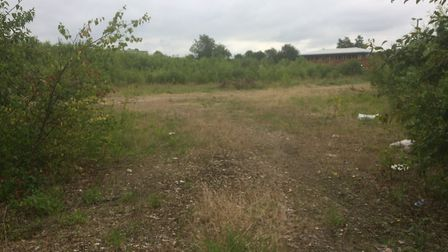 Site off South Green, Dereham, which was once home to Crane Fruehauf parts and labour site. Picture: