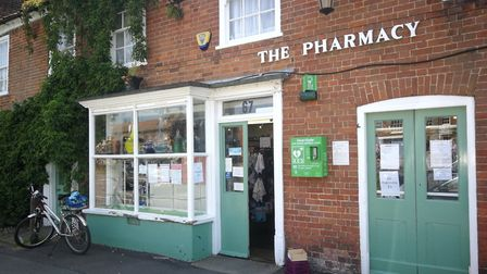 Burnham Market Pharmacy has closed its doors for the final time. Picture: DONNA-LOUISE BISHOP