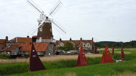 The annual Stiffkey Cockle flotilla to Cley Harbour. Pictures: Neil Foster Photography