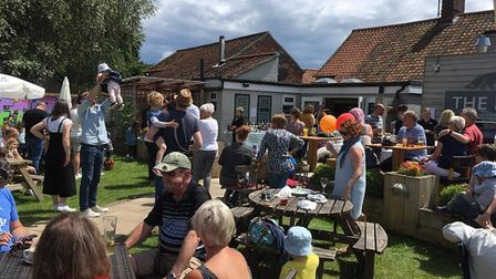 The Fox at Lyng bake-off. Pictures: Victoria Hunt