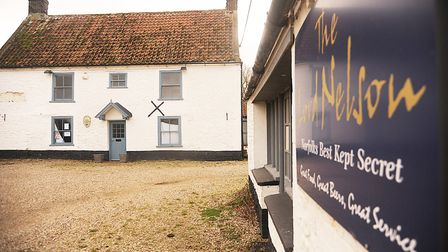 The Lord Nelson pub at Burnham Thorpe has been bought by the Holkham Estate. Picture: Ian Burt