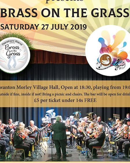 Swanton Morley Village Festival posters. Pictures: supplied by Brenda O'Dowd