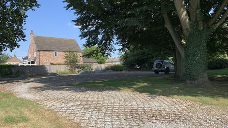 The car parking area next to Langham Glass, next to potential neighbours who have objected to the po