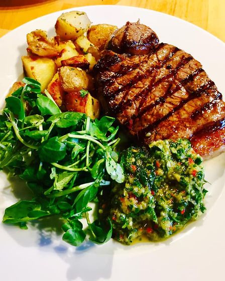 An Aberdeen Angus Steak, served at the last pop-up event PICTURE: Liam O'Sullivan