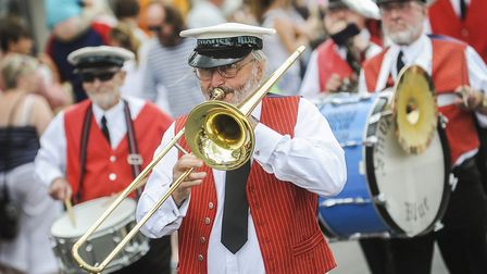Scenes from the procession around town of Wells Carnival Parade 2013. Picture: Matthew Usher.