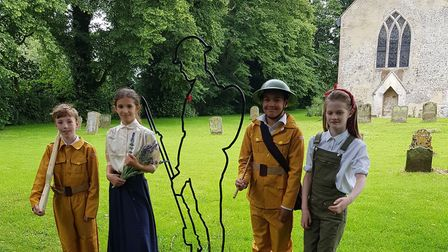 Children at Great Dunham Primary School are taking part in a heritage lottery funded project creatin