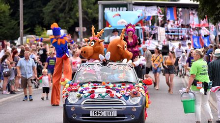 Dereham Peace Day will be happening instead of the carnival. Pictured is the carnival parade from 20