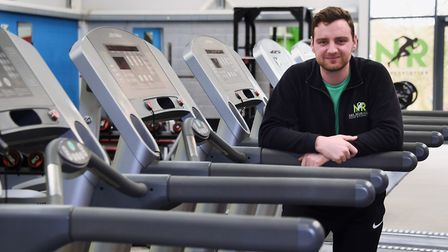 Nathan Gostling, director, by the cardio machines at his New Revolution Health and Fitness Club at W