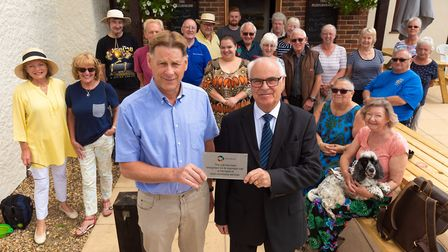 Beeston Ploughshare that has been brought back to life with a huge effort by the community and suppo