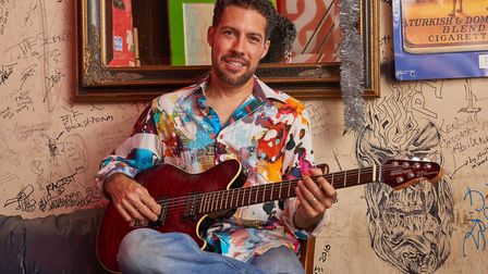 Hamilton Loomis is going to headline the opening gig of the 2019 Dereham Blues Festival. Picture: An