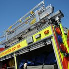 Fire crews were called to a flat fire in Wymondham. Picture: Chris Bishop