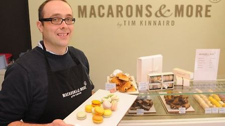 Former Masterchef finalist Tim Kinnaird will judge a cooking contest at the Northgate High School an