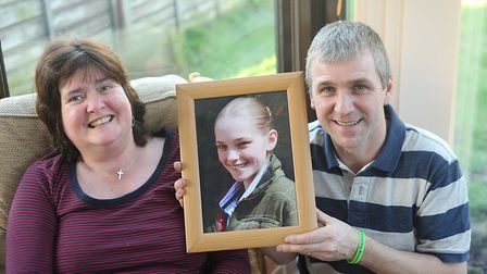 Ellie Loades' parents Nick and Elaine are organising another fundraising ball in her memory. Picture