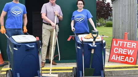 The Breckland Community Shed Network will give people access to litter pick equipment and basic gard