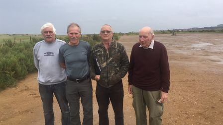 From left, Chris Cotton, Rod Cooke, Stephen Bocking and Brian Everett. They are members of the Scolt