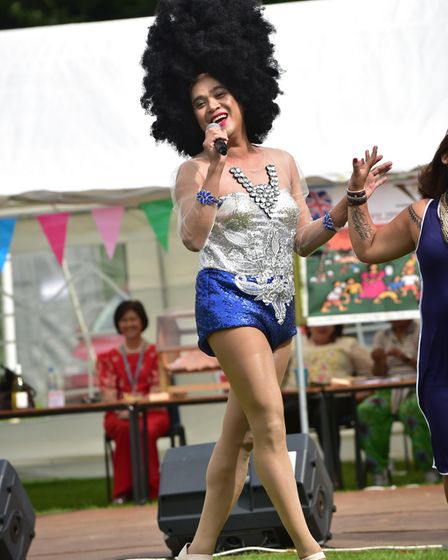 A scene from a previous Barrio Fiesta at East Tuddenham. Picture: Sonya Duncan