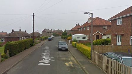 A dog was rescued from a fire in Northfield Waye, Wells. Picture: Google Maps