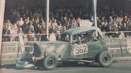 Tributes have been paid to Dereham stock car racer Horry Barnes. Horry Barnes in his stock car racin