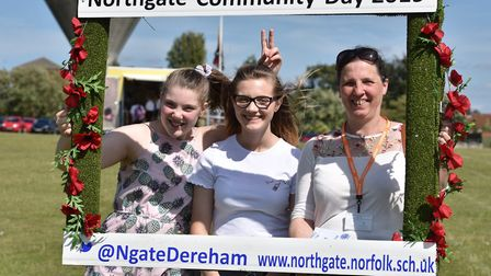Northgate School in Dereham hold their community day for pupils and families.Byline: Sonya DuncanCop