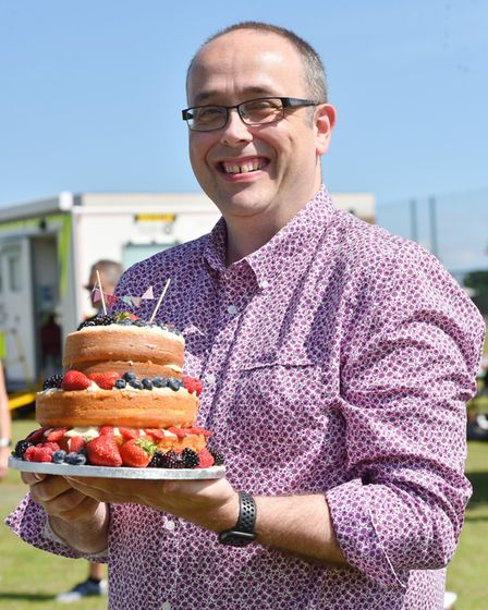 Northgate School in Dereham hold their community day for pupils and families.Tim kinnear baking comp