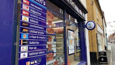 The Martin's newsagent in Wells is set to close. Picture: Archant