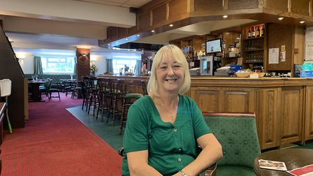 Sally McGrath, manager, in the restaurant at The Gallow Fakenham Sports Centre PICTURE: Matthew Farm