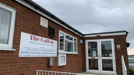The entrance to The Gallow Fakenham Sports Centre PICTURE: Matthew Farmer