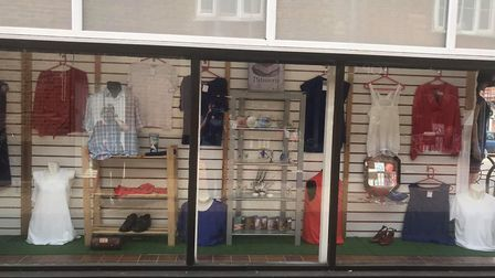 PACT in Norwich Street, Dereham , which was one of the highly commended displays in the Peace Day co