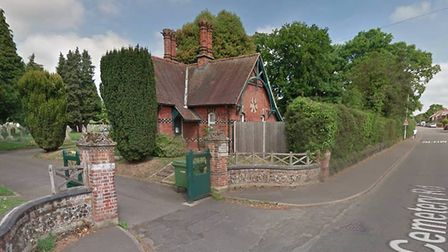 Dereham Town Council is set to discuss future plans for the lodge at Dereham Cemetery. Picture: Goog
